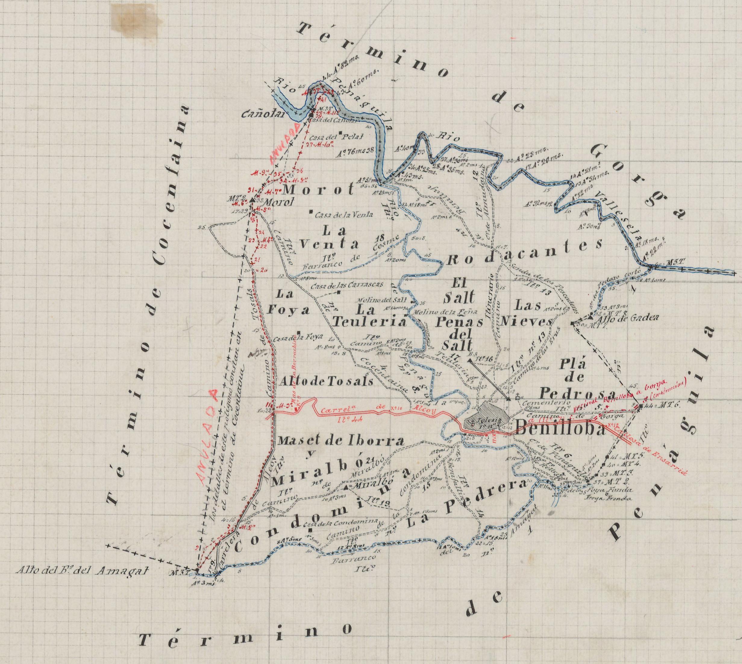 mapa terme B 1898 IGN mini