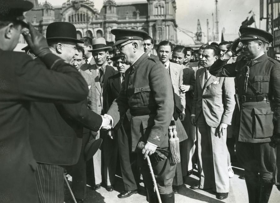 Nº 22 de la saca: teniente coronel Herrero Compañy, leal a la República y pasado por lasarmas